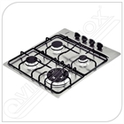 Cooktop Square 4GX TRI 60 a gás.